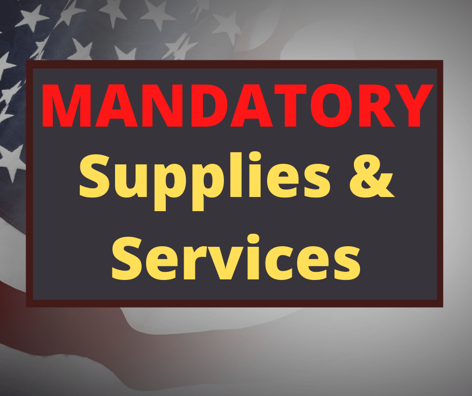 Paramount Sources of Supplies & Services On Government Contracts