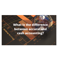 What is the difference between accural and cash accounting?