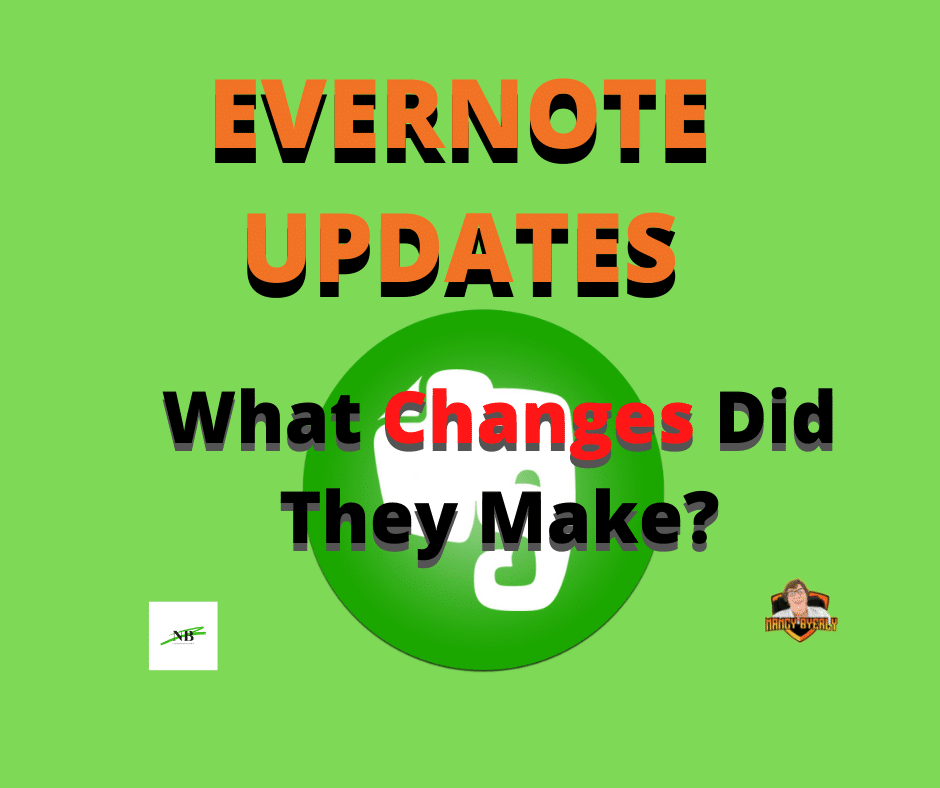 New Updates To EVERNOTE